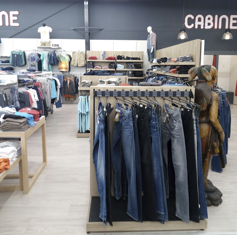Jeans hommes chez Camarly