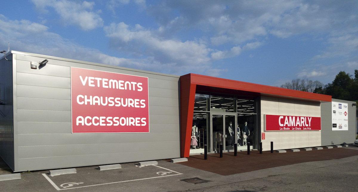 magasin Camarly à Pont-de-Beauvoisin